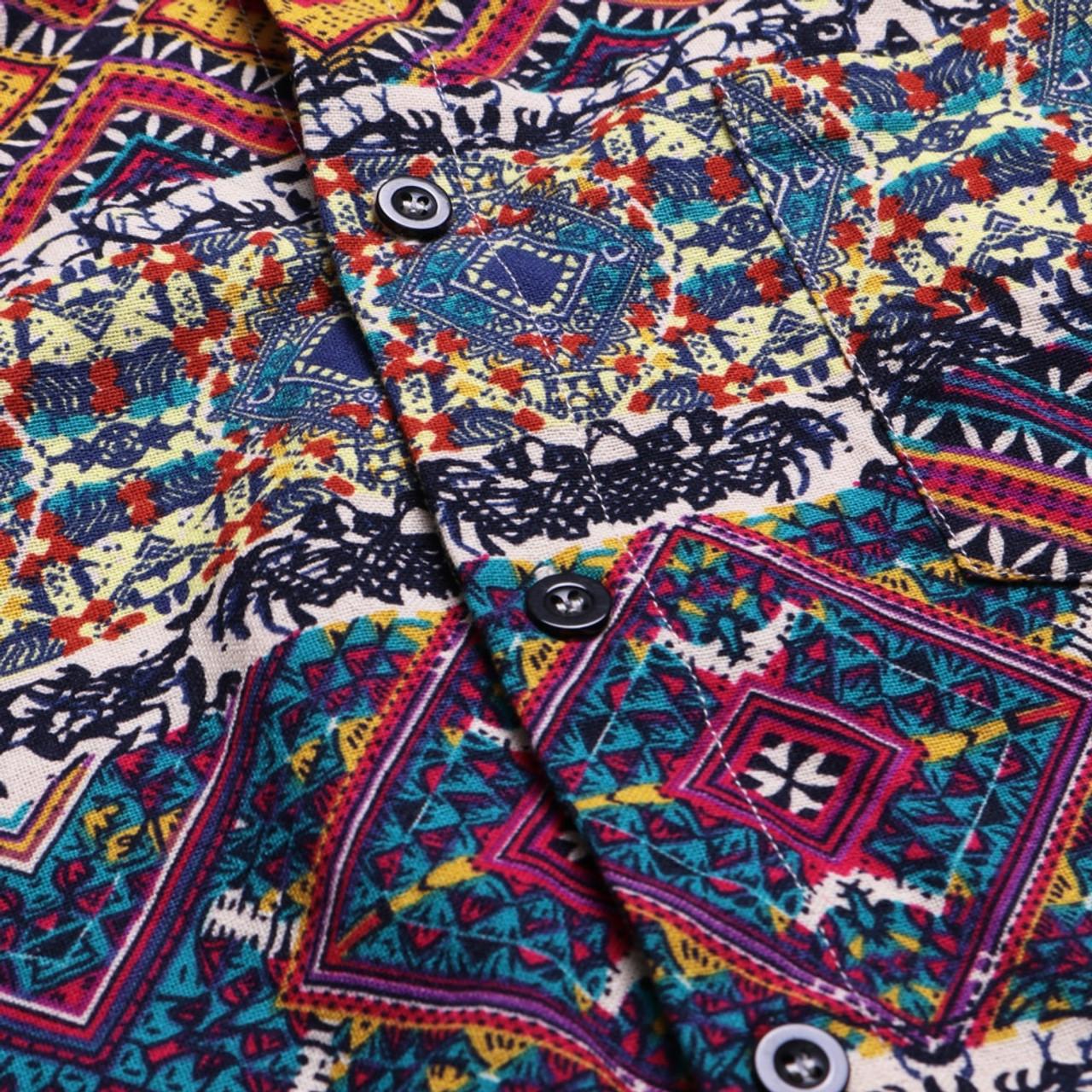 f340ab8f ... Mens Beach Hawaiian Shirt Tropical Summer Short Sleeve Shirt Men Brand  Clothing Casual Loose Cotton Button