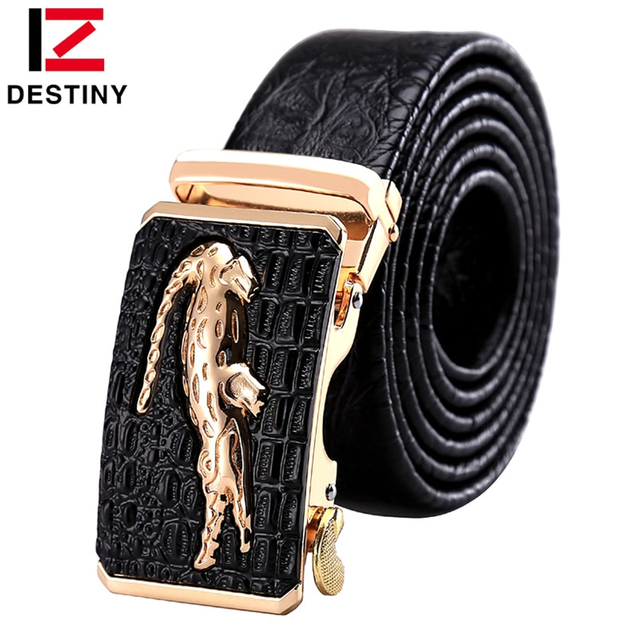 New Fashion Destiny Designer Automatic Buckle Without Belt Men Gold High Quality Metal Buckles For 3.5cm Automatic Belt Luxury Famous Brand Men's Belts