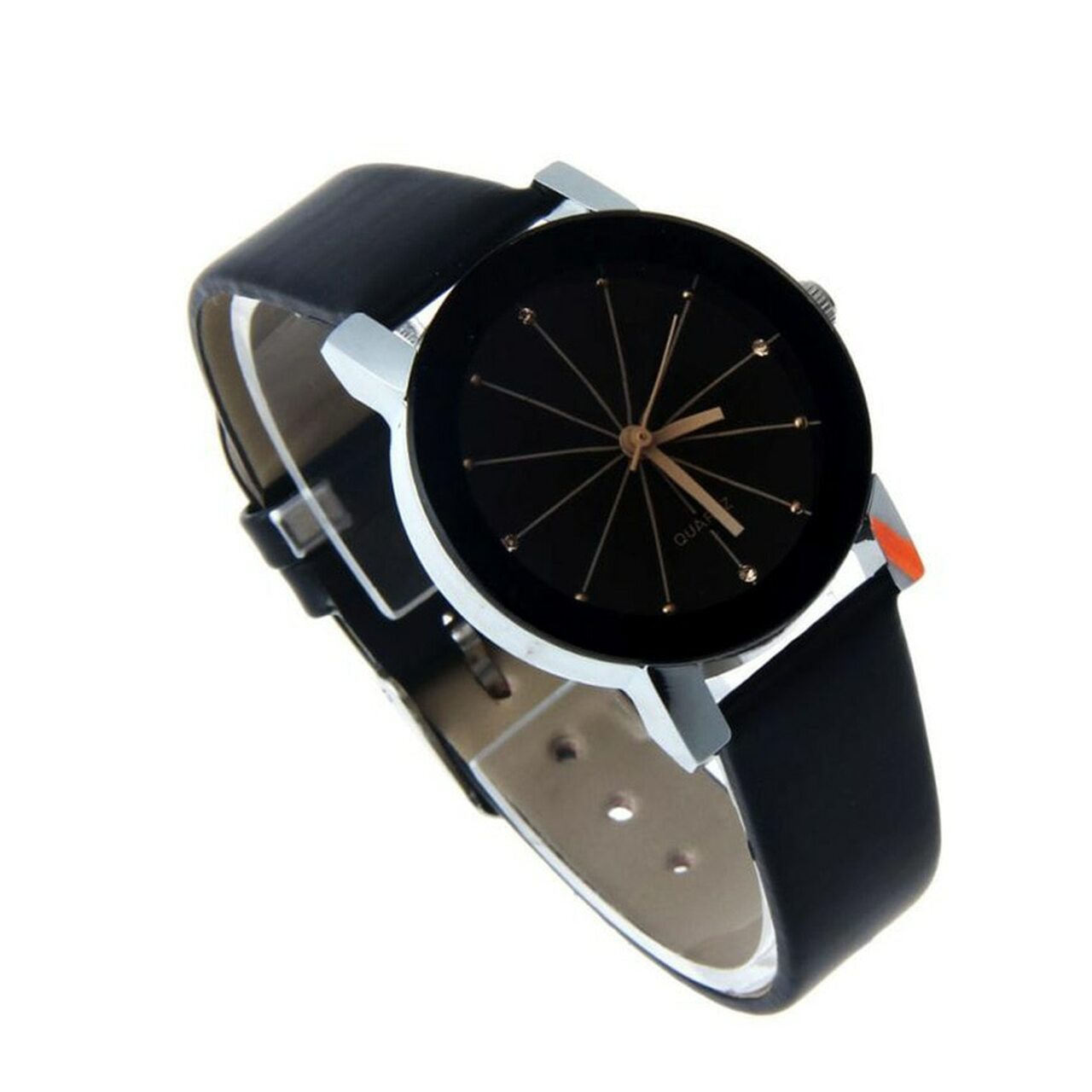 5de103b84 ... Hot 2018 New Fashion Watches Women Men Lovers Watch Leather Quartz  Wristwatch Female Male Clocks Relogio ...