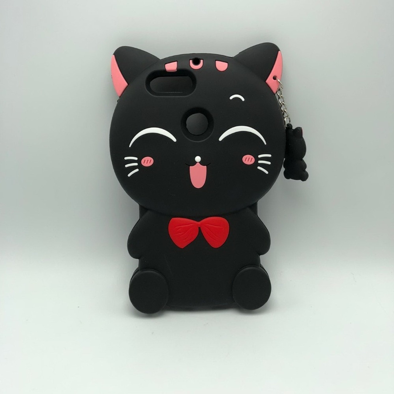 7e031d34603c9c ... For Huawei Honor 9 Lite 3D Silicon Lucky Cat Cartoon Soft Cell Phone Case  Cover for ...