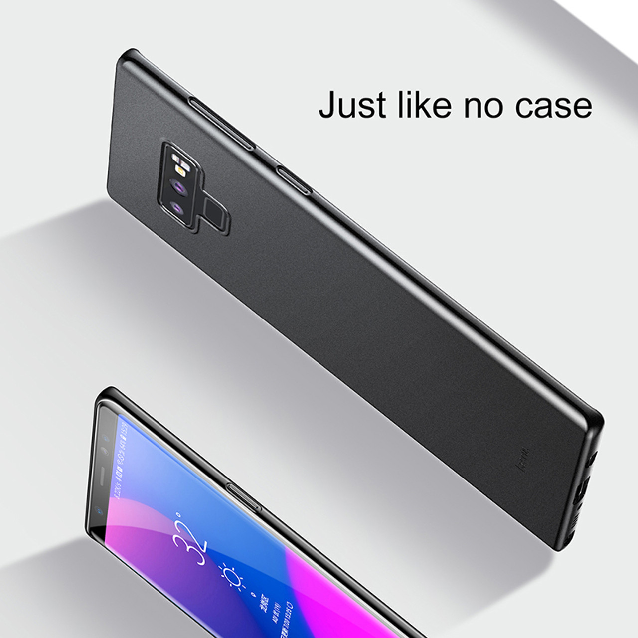 huge discount 473d4 d4f1d Baseus Ultra Slim Case For Samsung Galaxy Note 9 Note9 Coque Super Thin PP  Matte Back Cover For Samsung Note 9 Fundas Capinhas