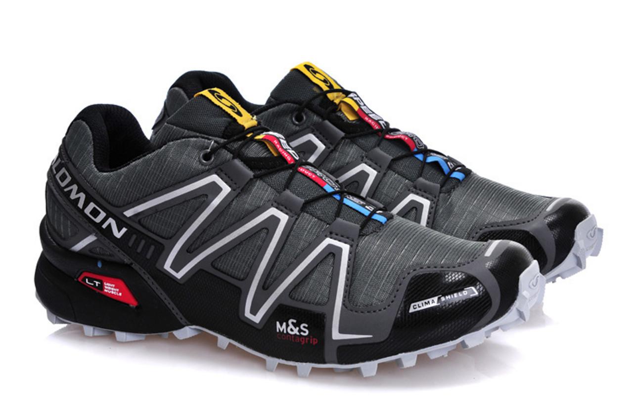 pas cher pour réduction ebc3b 39ffc Salomon Speedcross 3 CS Sport Men Outdoor Shoes Breathable Zapatillas  Hombre Mujer Male Fencing Sneaker Speed Cross 3 tennis