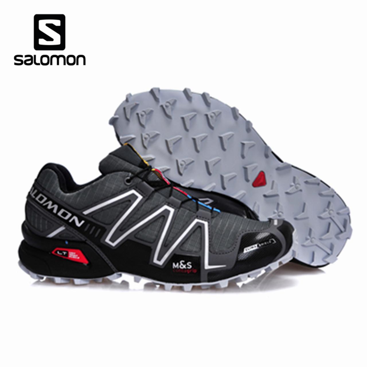 magasin d'usine 786f7 6131e Salomon Speed Cross 3 CS Men Outdoor Sport Shoes Breathable Sneakers  zapatillas Hombre Male Speedcross 3 Fencing Shoes
