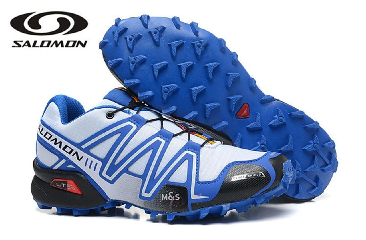 Salomon Speed Cross 3 CS III Professional Outdoor Male Flywire Athletic Sport Shoe Speed Cross 3 Eur 40 46