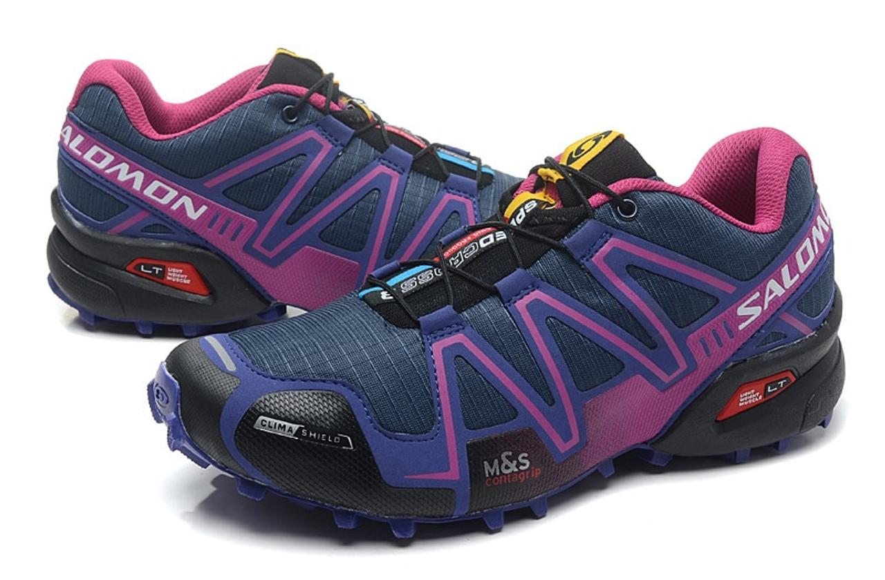 revendeur c5abb 4c948 Salomon Speedcross 3 III Women's Shoes High Quality Solomon Breathable  Speed Cross Sneakers Female Outdoor Sports Fencing Shoes