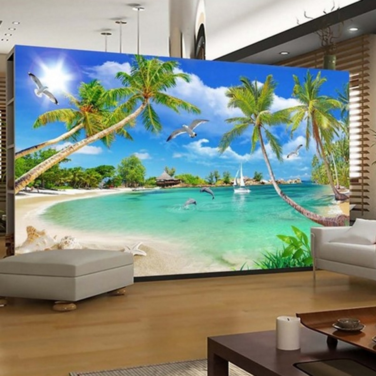 YOUMAN Custom 3d Photo Wallpaper Wall Murals 3D Wallpaper ...