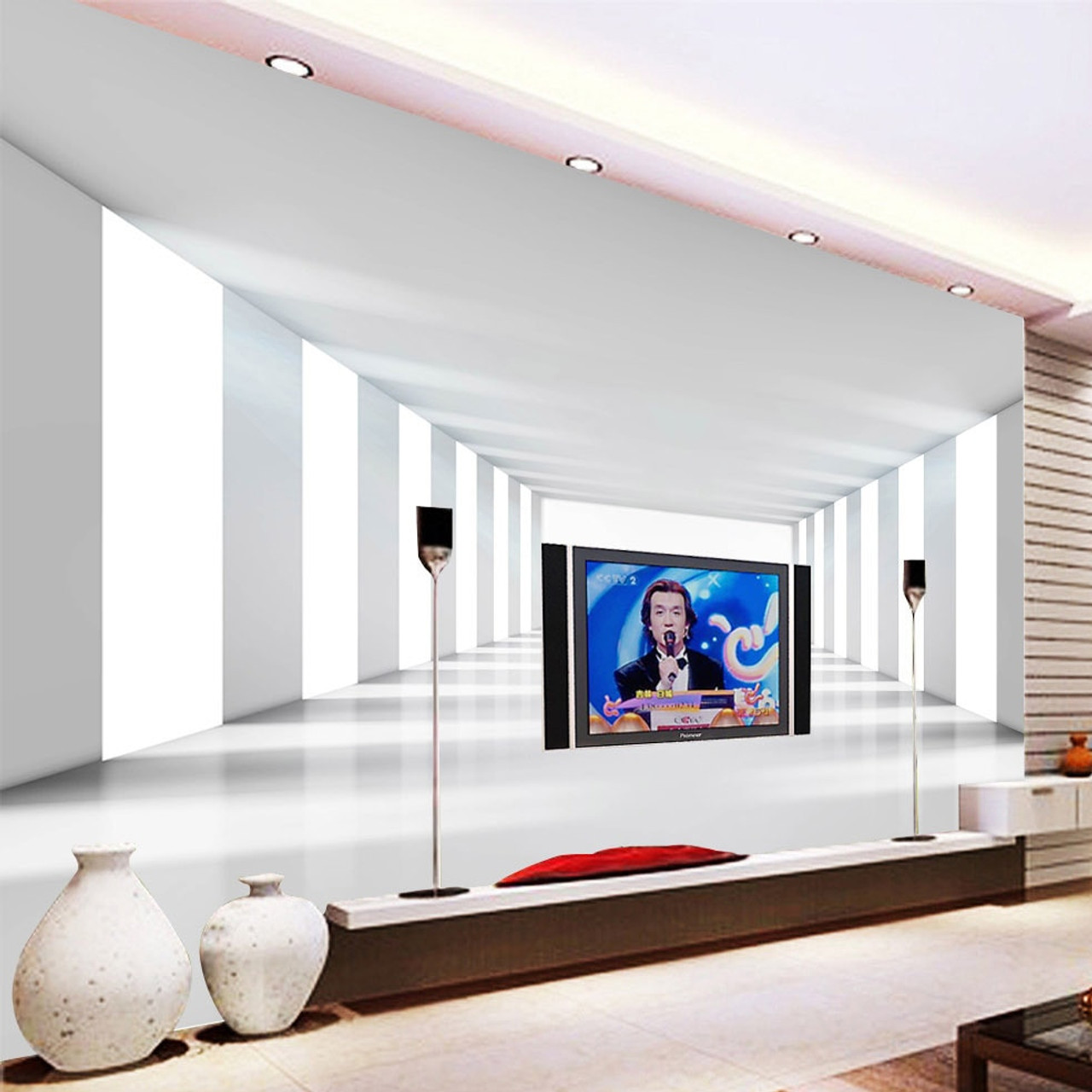 Living Room With Big Tv Decor