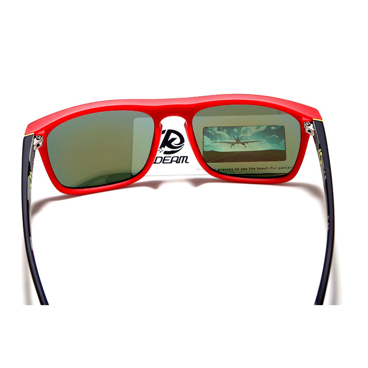 cc83e4e2bc ... Fashion Guy s Sun Glasses From Kdeam Polarized Sunglasses Men Classic  Design All-Fit Mirror Sunglass ...