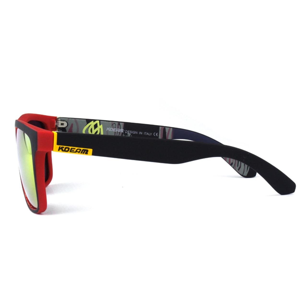 ca225e265f ... Fashion Guy s Sun Glasses From Kdeam Polarized Sunglasses Men Classic  Design All-Fit Mirror Sunglass ...