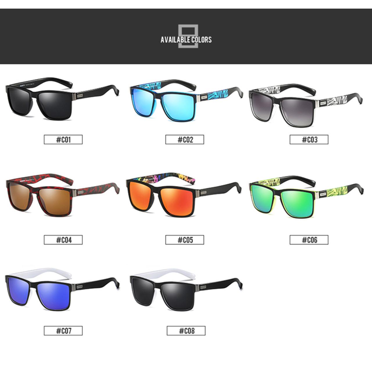 754d3e9e1e ... DUBERY Brand Design Polarized Sunglasses Men Driver Shades Male Vintage  Sun Glasses For Men Spuare Mirror ...