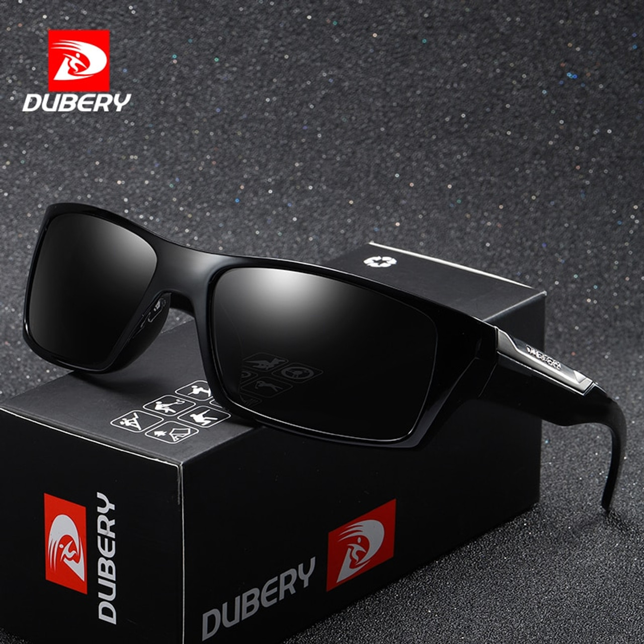 a5eab89f34 DUBERY Brand Design Polarized Sunglasses Men Driving Shades Male Retro Sun  Glasses For Men Summer Mirror Fashion UV400 Oculos - OnshopDeals.Com