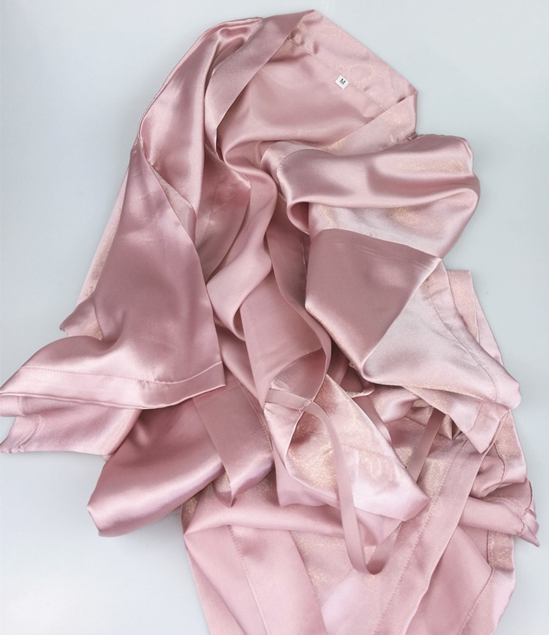C Amp Fung Dark Pink Robe Silver Letter Kimono Personalised Satin Pajamas Wedding Robe Bridesmaid Sister Mother Of The Bride Robes Onshopdeals Com