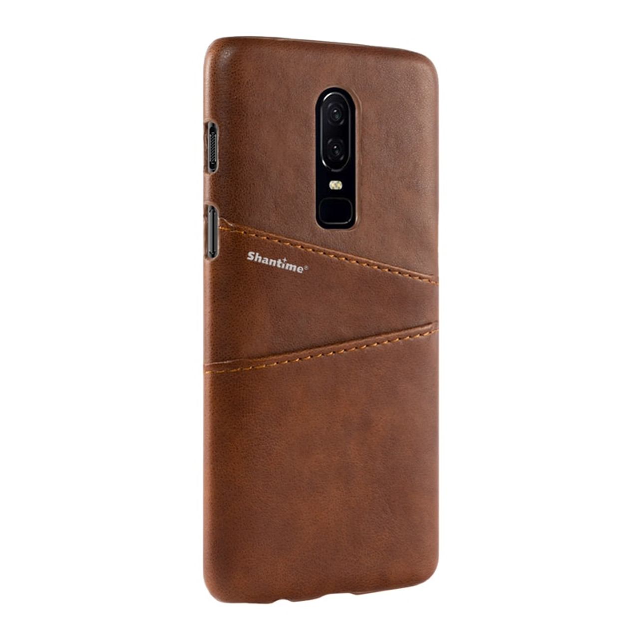 low priced 53c2a f0a79 Pu Leather Back Cover For Oneplus 6 Wallet Case For Oneplus 2 Business Case  For Oneplus 6T Card Slots Phone Bag Case