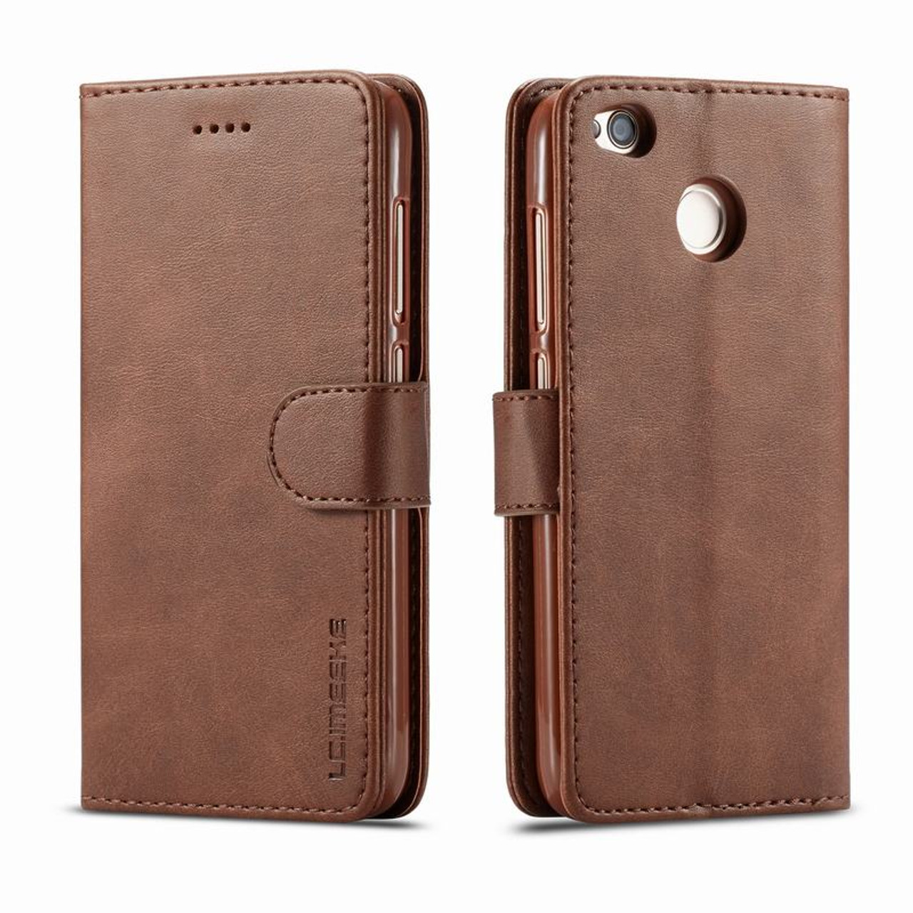 uk availability b04b6 35625 Coque redmi 4X cover leather wallet phone case for xiaomi redmi 4X case  card holder hoesje for xiaomi redmi 4X flip case funda