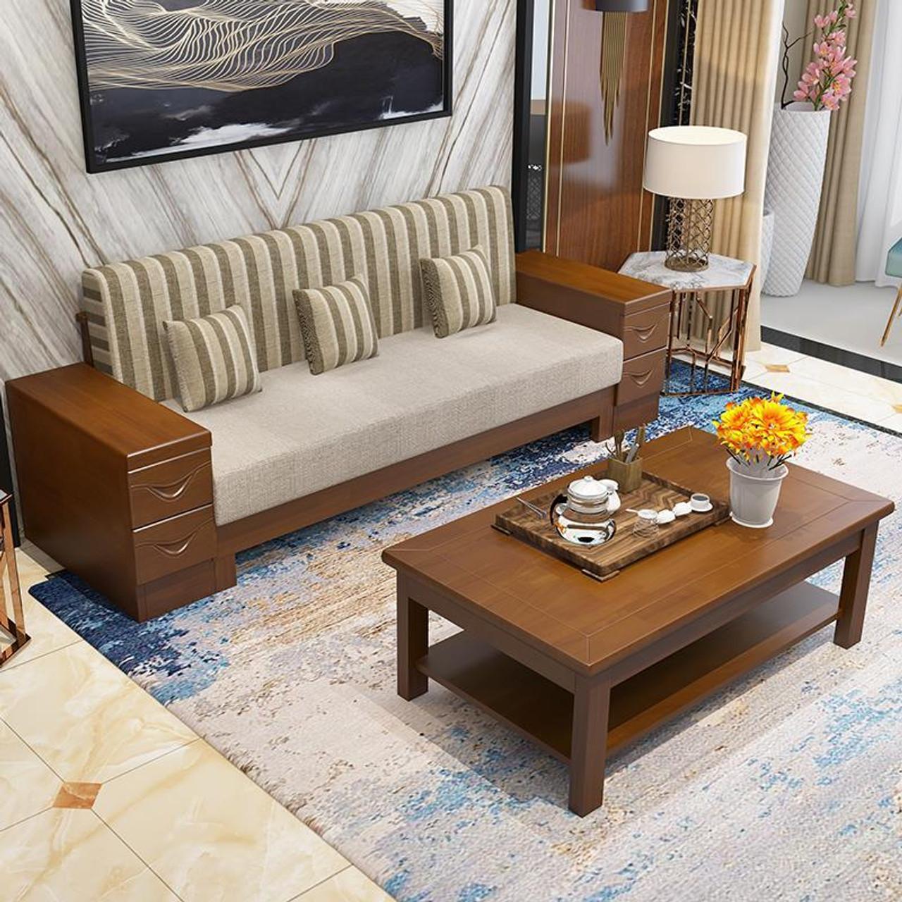 Koltuk Takimi Sillon Home Meuble Maison Meubel Meble Do Salonu Para Wood Vintage De Sala Mueble Set Living Room Furniture Sofa Onshopdeals Com