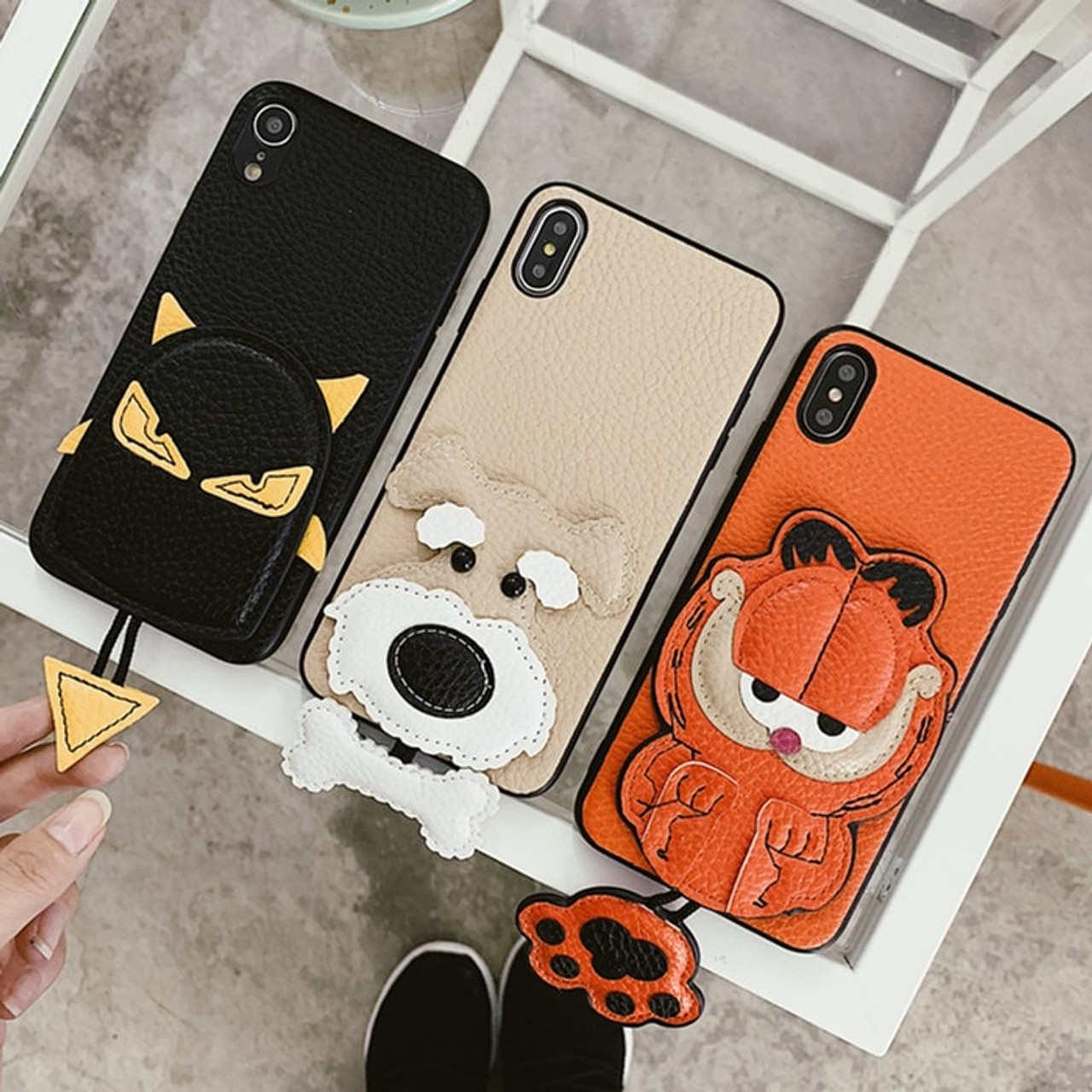 coque iphone xr garfield