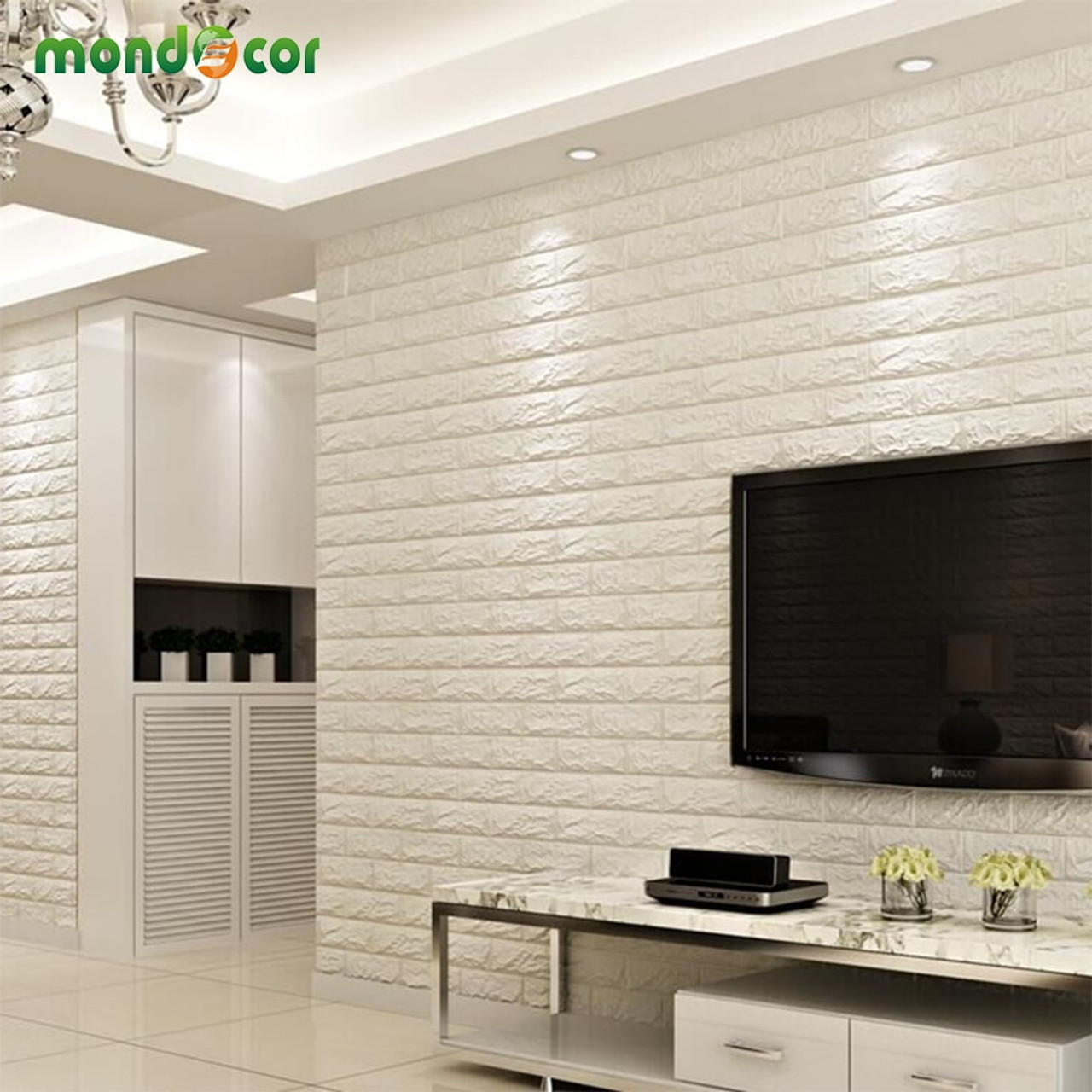 Diy Wall Panel Self Adhesive 3d Wall Sticker Living Room Bedroom Decor Waterproof Wall Covering 3d Brick Wallpaper For Kids Room