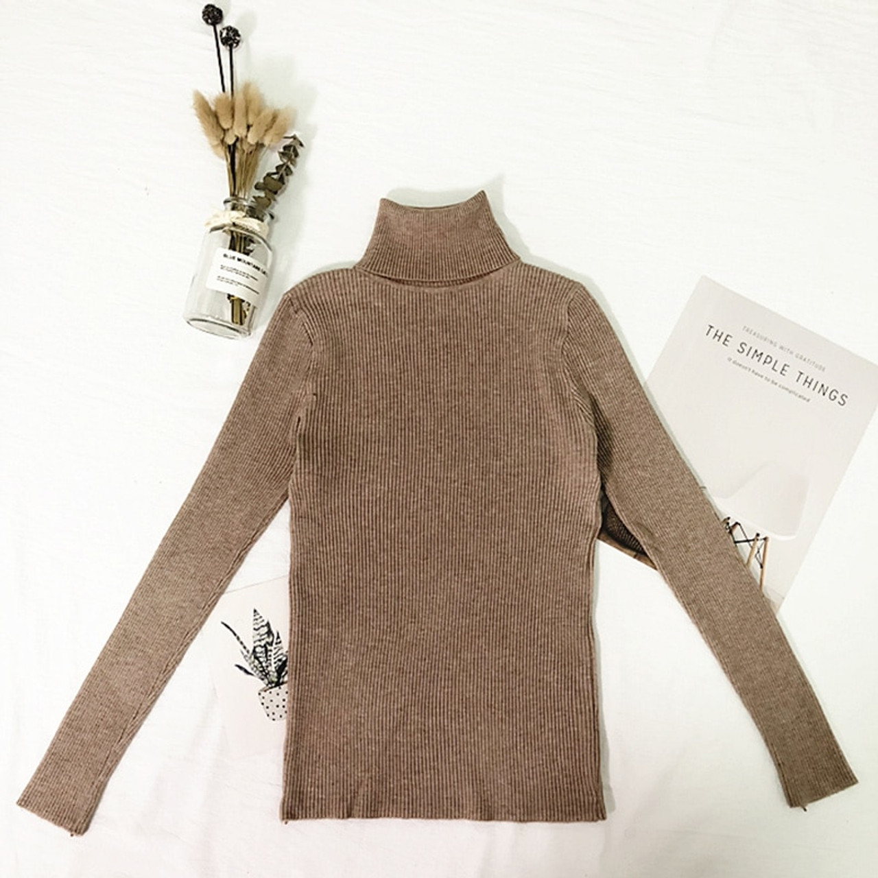 764358021a5 ... Womens Sweaters 2018 Winter Tops Turtleneck Sweater Women Thin Pullover  Jumper Knitted Sweater Pull Femme Hiver ...