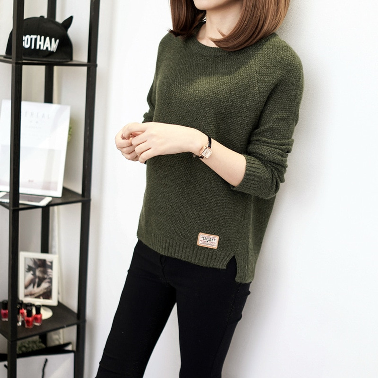 398cccd7dc0 ... Autumn sweater 2017 Winter women fashion sexy o-neck Casual women  sweaters and pullover warm ...