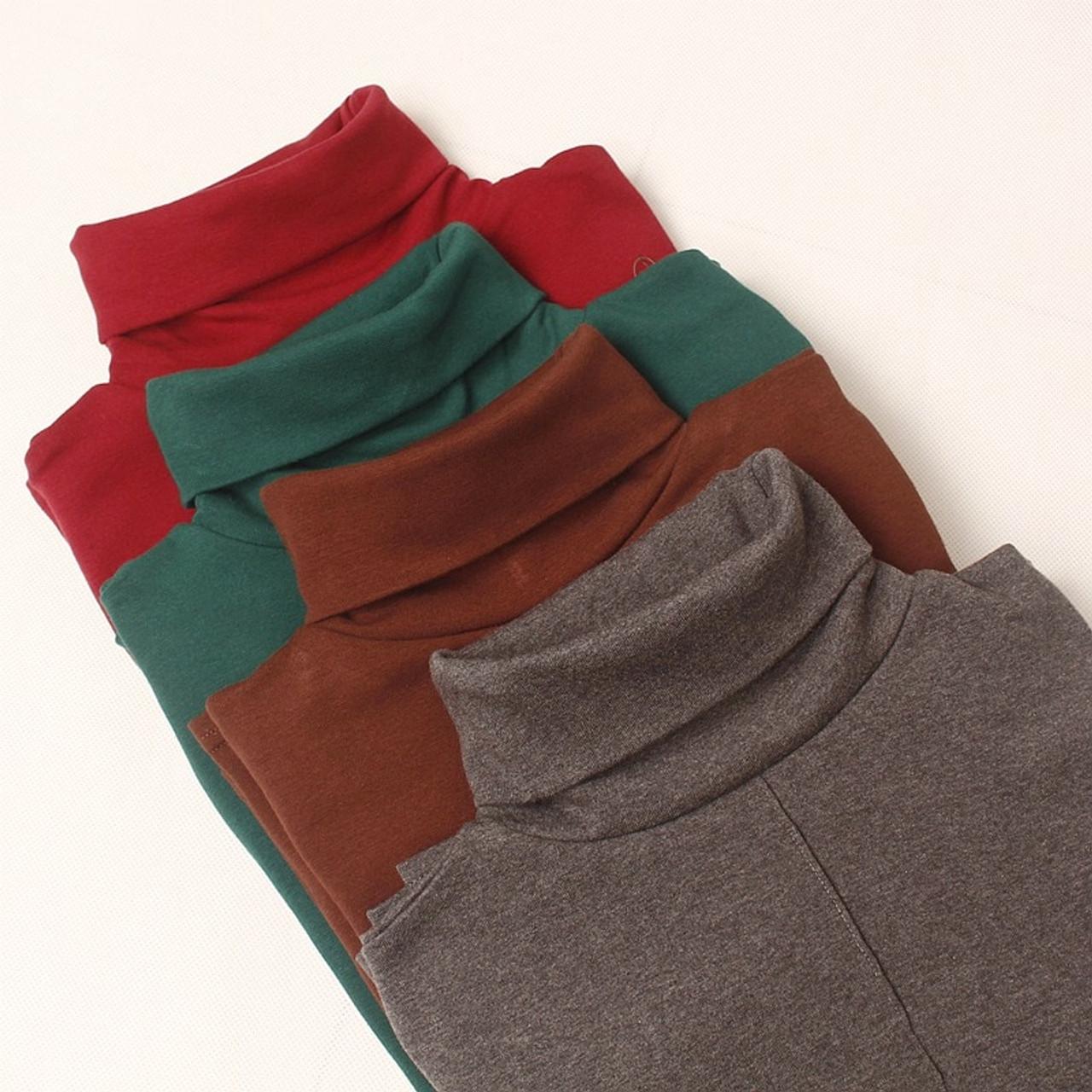 f9608b2df4 High Quality 95% Cotton Autumn Winter Women Sweater Plus Size M-XL  Turtleneck Pullover Jumper Soft Warm Female Sweater Top - OnshopDeals.Com