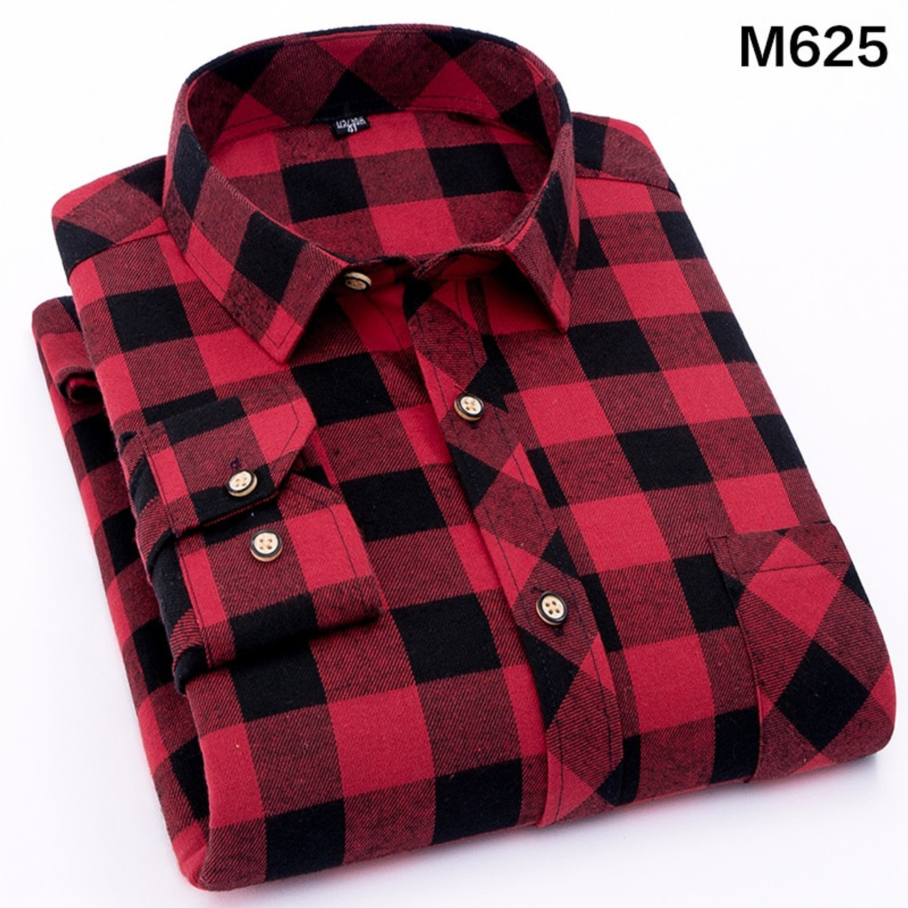 f1c816868c1 ... Men s Shirt 2019 Spring Autumn New Male Long Sleeve Flannel Plaid Shirt  Brand Men Office Style ...