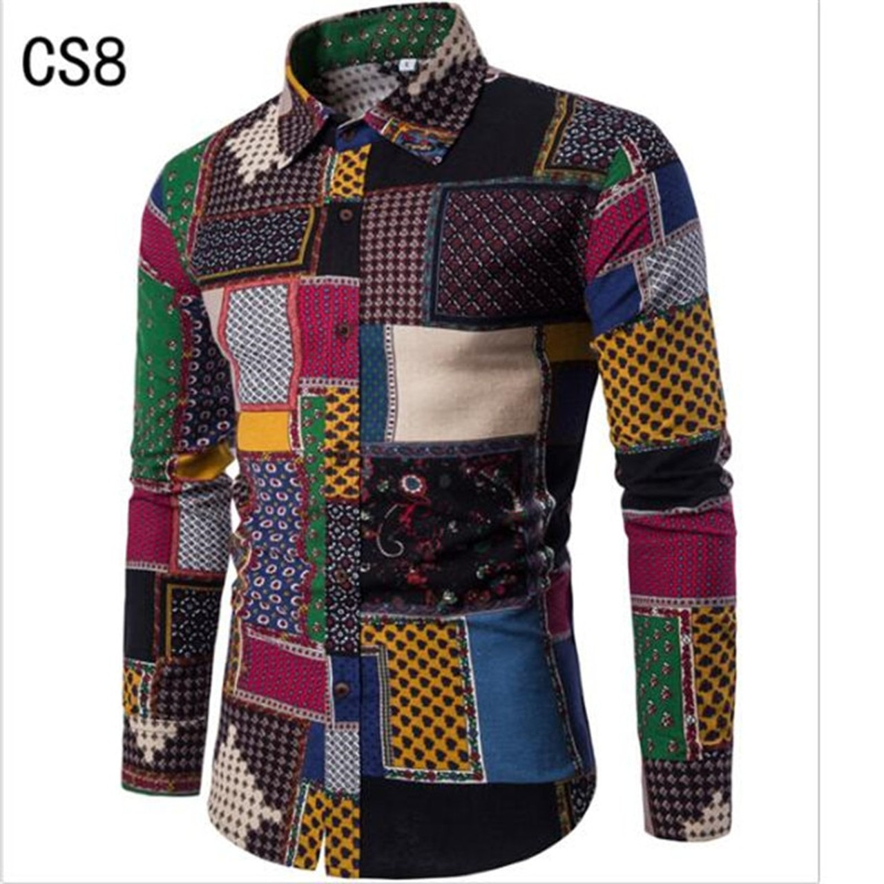 New Brand Clothing 2018 Fashion Shirt Male Flax Dress Shirts Slim Fit Turn Down Men Long Sleeve Mens Hawaiian Shirt Big Sizes5xl Onshopdeals Com