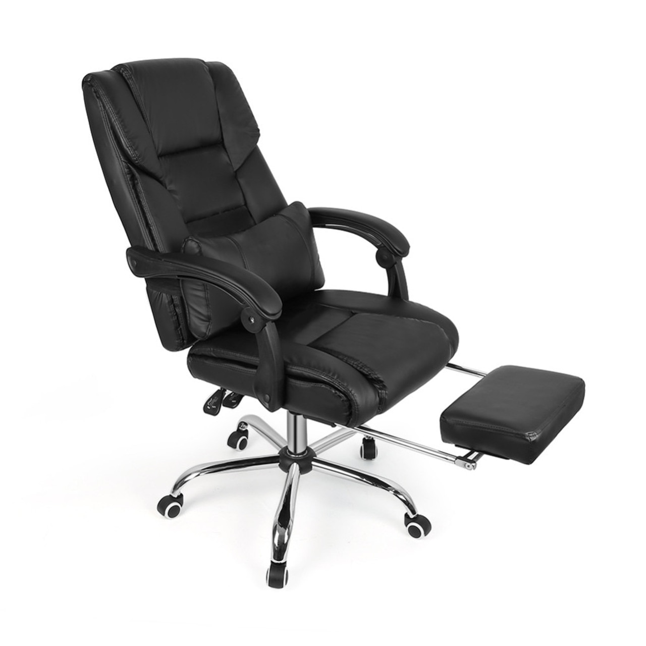 Design Lifting Chair Reclining Office Chair High Back Computer Napping Chair Leather Hwc Onshopdeals Com
