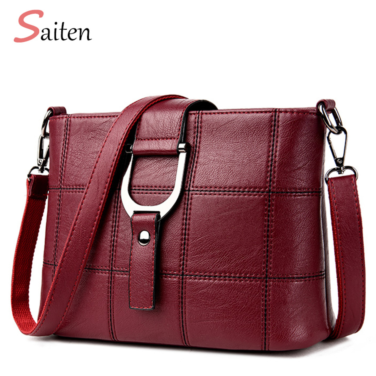 Top-handle Bags Women's Bags Active New Messenger Bags Large Capacity Women Shoulder Bags Female Trunk Tote Bolsos Luxury Handbags Women Bags Designer 2019