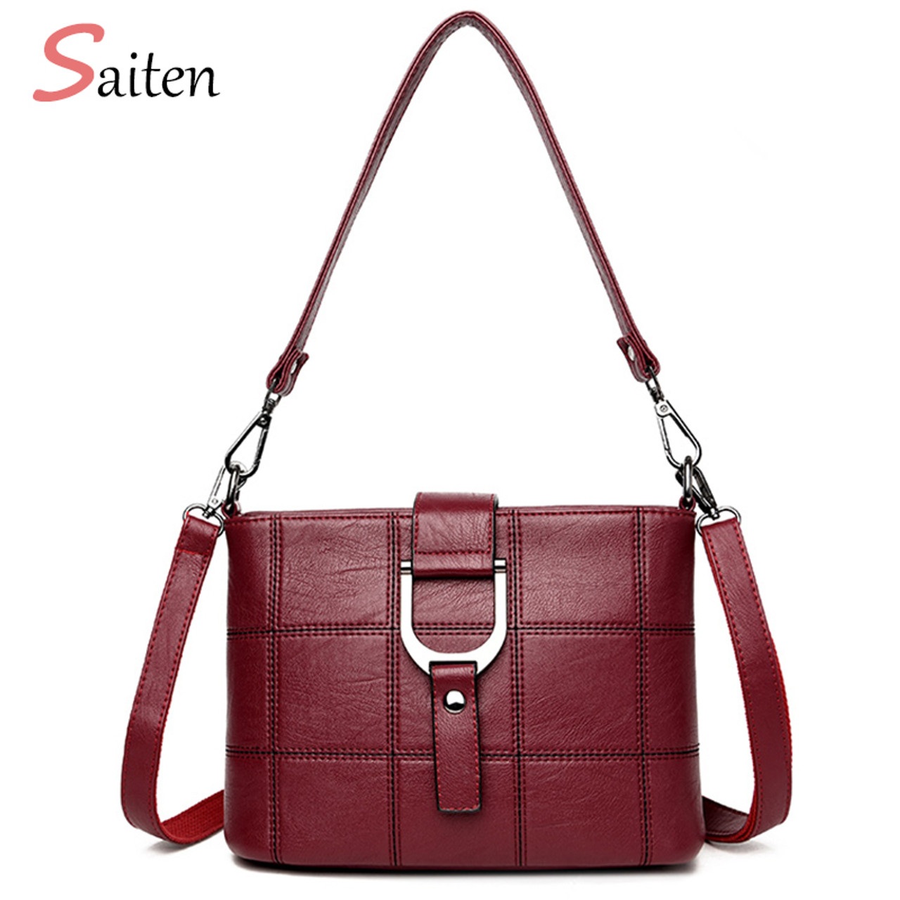 ... Luxury Women Messenger Bags Designer Woman Bag 2019 Brand Leather  Shoulder Bags Tote Bag sac a ... 069b66a83491d