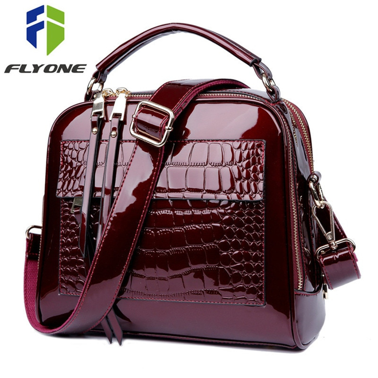 c83851d31a23 Luxury Handbags Women Bags Designer Crossbody Bags for Women Shoulder Bag  Crocodile Leather Purse Bolsa Feminina ...
