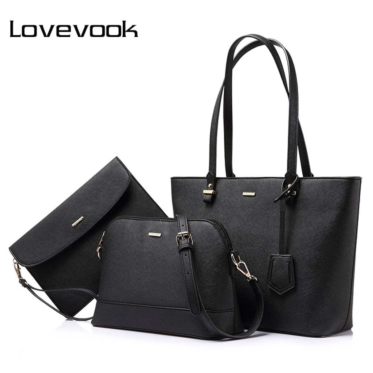 4c9fef485b0f8a LOVEVOOK handbag women shoulder bags designer crossbody bag female large  tote 3 set bag big luxury ...