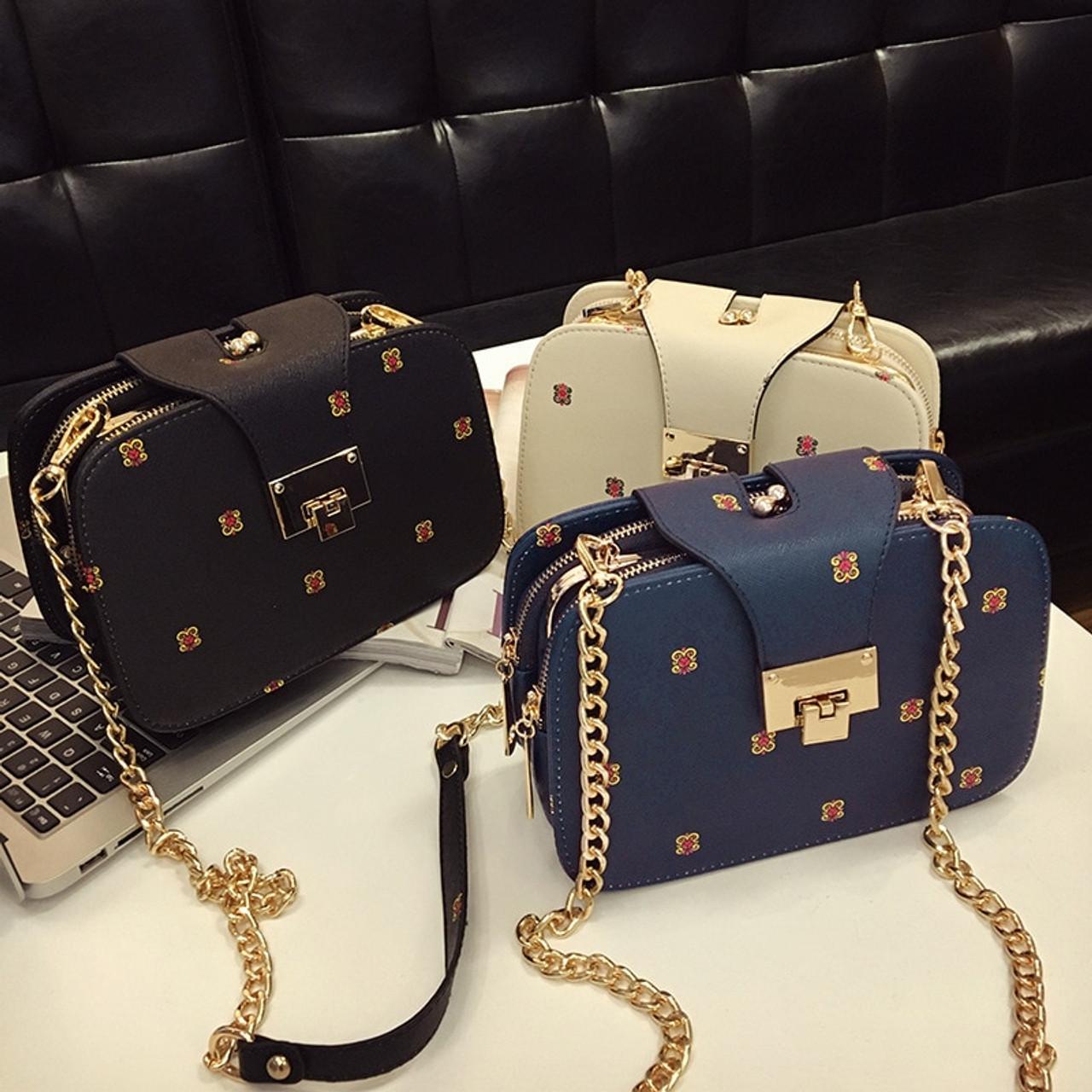 709c6f5ff150 Fashion Chain Leather Women Shoulder Bags Solid Lock Messenger Crossbody  Bag Small Ladies Handbags Bolsa Feminine Sac A Main X36 - OnshopDeals.Com