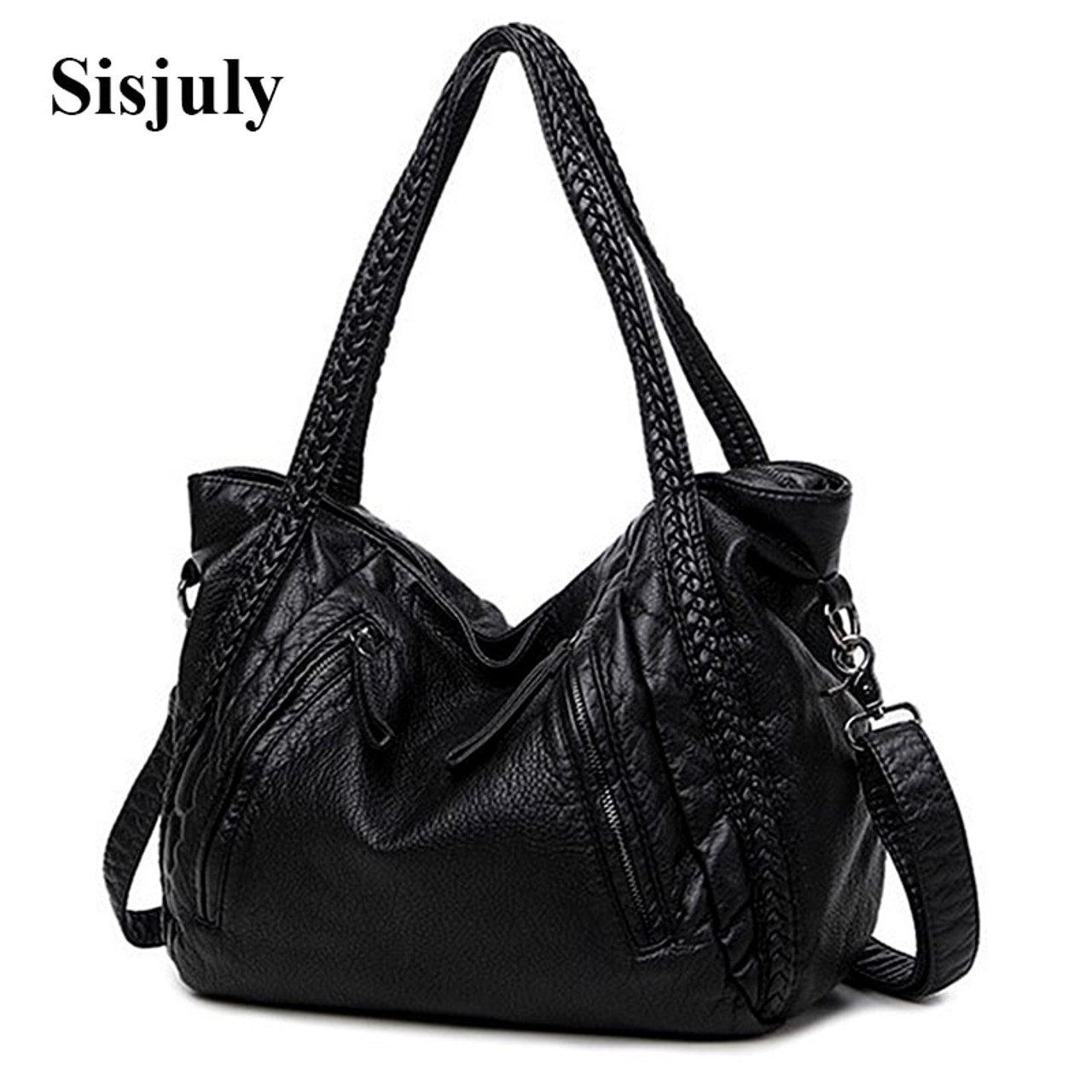 d232592f0879 Sisjuly 2018 Leather Bag Women Handbags Soft Female Bag Crossbody For Women s  Shoulder Bags Ladies Casual ...