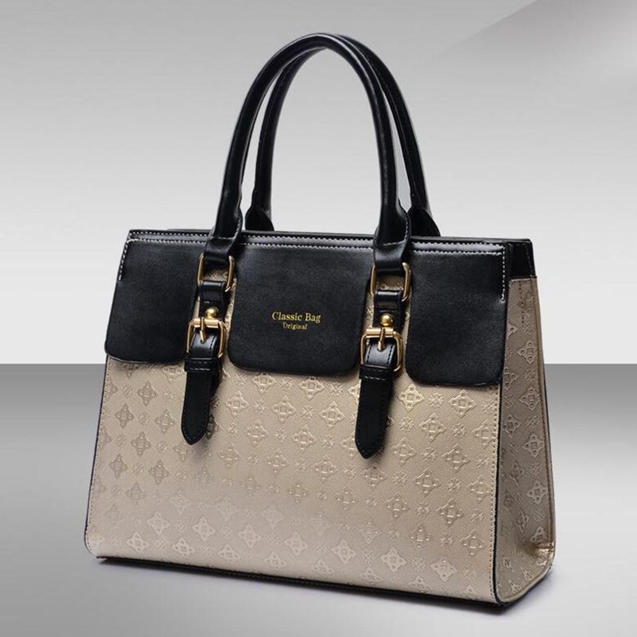 02699dd317b 5Piece/Set 2018 New Women Bags Leather Handbags Fashion Shoulder Bag Female  Purse Ladies Crossbody Designer Brand Bolsa Feminina