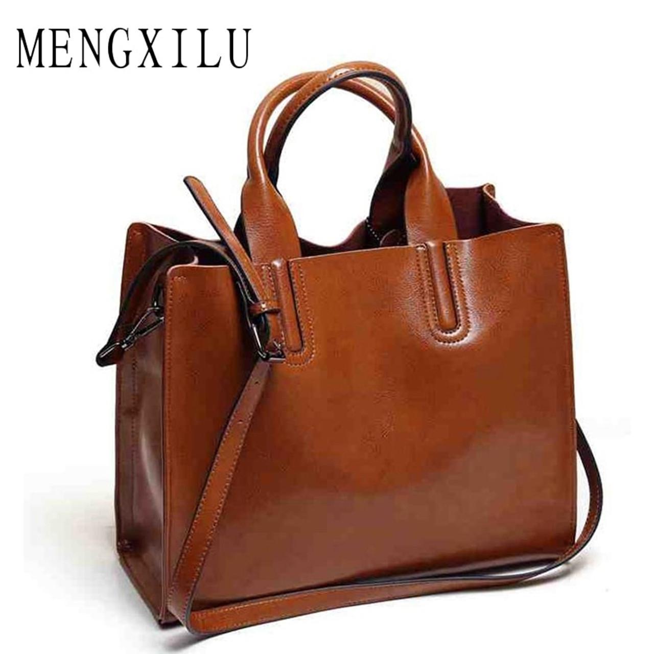 Leather Bags Handbags Women Famous Brands Big Casual Women Bags Trunk Tote  Spanish Brand Shoulder Bag Ladies large Bolsos Mujer - OnshopDeals.Com d9837d3e4c08e