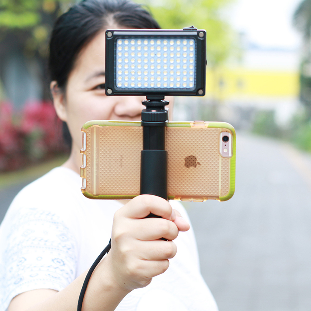 96 LED Phone Video Light Photo Lighting on Camera Hot Shoe LED Lamp