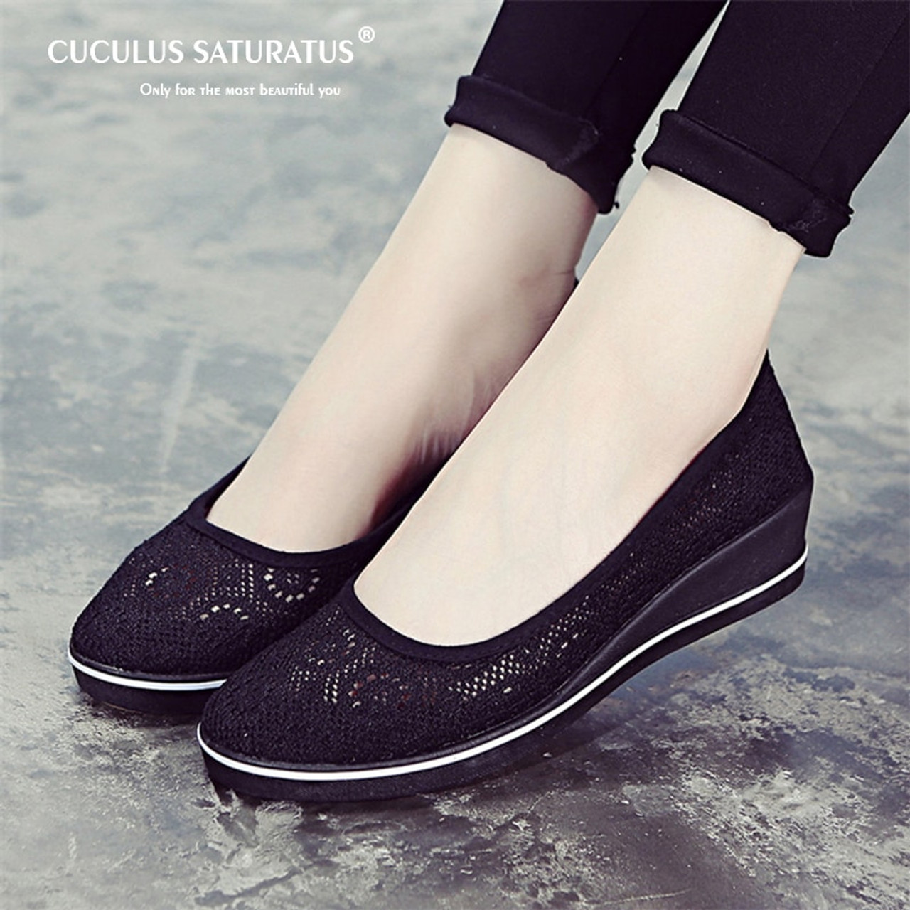 womens flat casual shoes