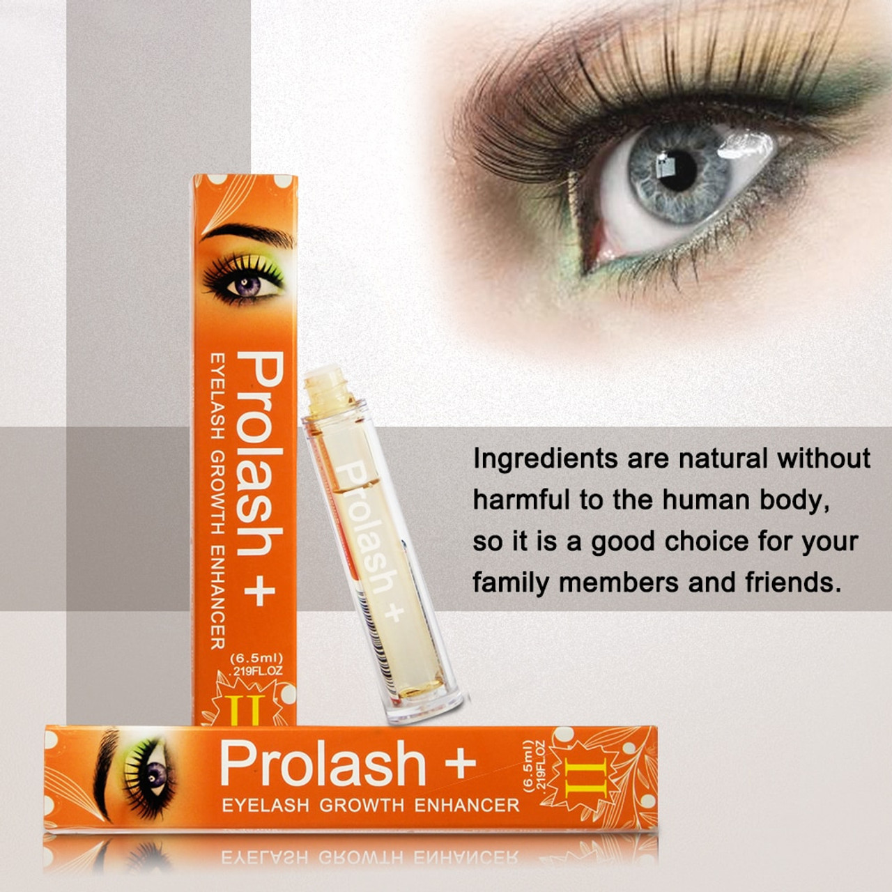 53473a80de9 ... Prolash+ Best Eyelash Serum Eyelashes Extensions Growth Serum EPM Enhancing  Eyebrow Enhancer 7 Days Longer No
