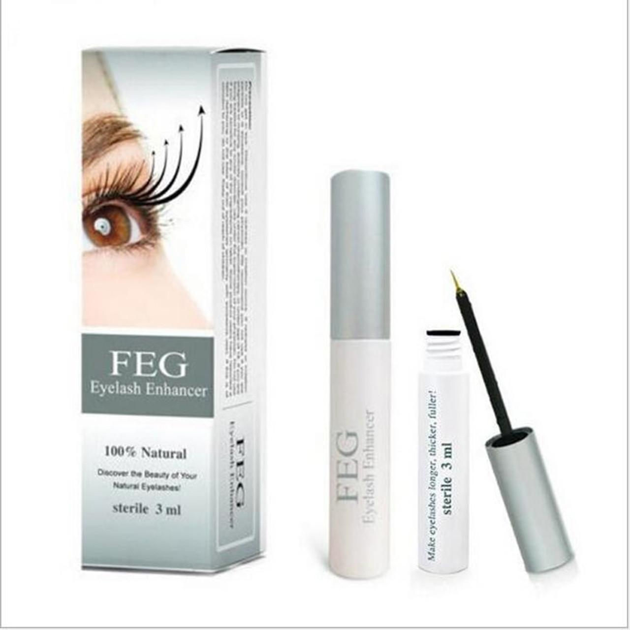 5647cb39ec4 50pcs Original Feg Eyelash Enhancer Makeup Eyelash Growth Serum Natural  Herbal Medicine Eye Lash Serum Growth ...