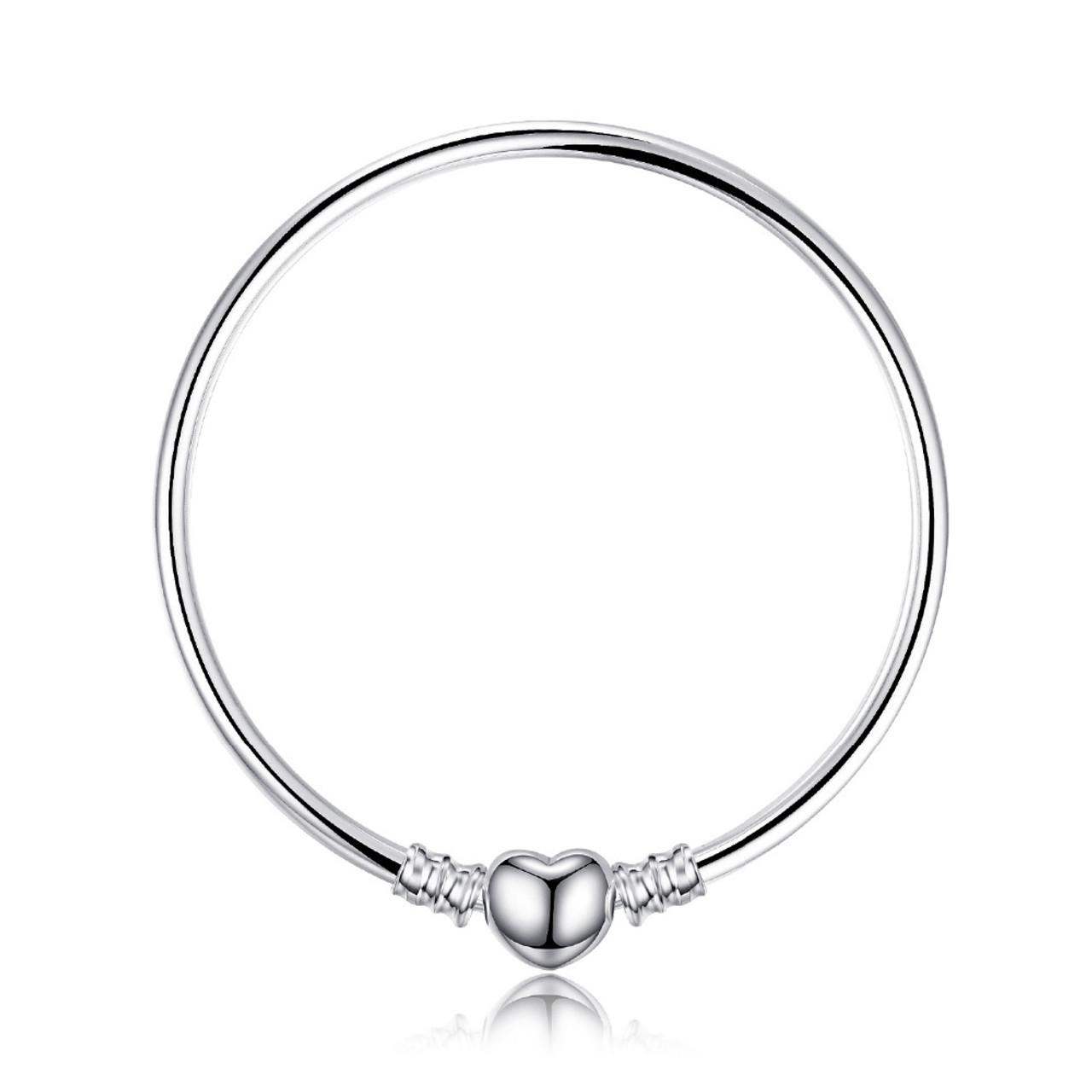 683b923e1b1e1 ... Jewelrypalace 925 Sterling Silver Bracelets Elegant Heart Beads  Bracelet Bangle Gifts For Women Anniversary Fashion Jewelry ...