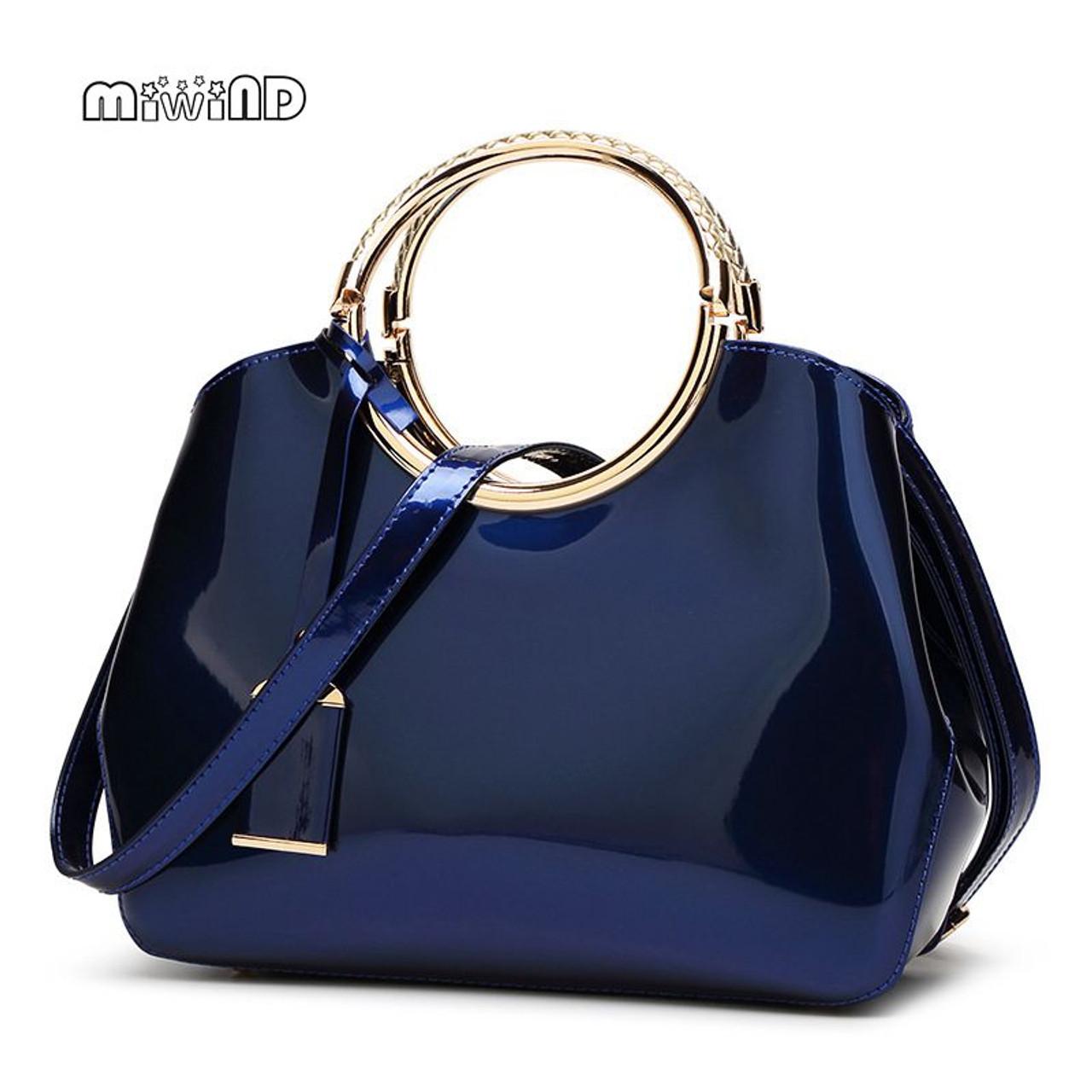 2018 High Quality Patent Leather Women Bag Ladies Cross Body Messenger  Shoulder Bags Handbags Women Famous Brands Bolsa Feminina - OnshopDeals.Com 21e780d242