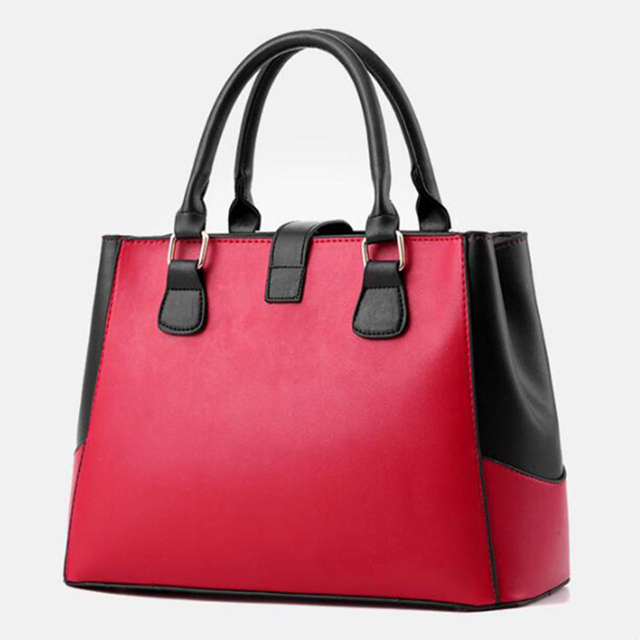 19e72f7cb31 ... 2018 Sweet Handbags for Women New Fashion Designer PU Leather Shoulder  Bags Female Top-Handle ...