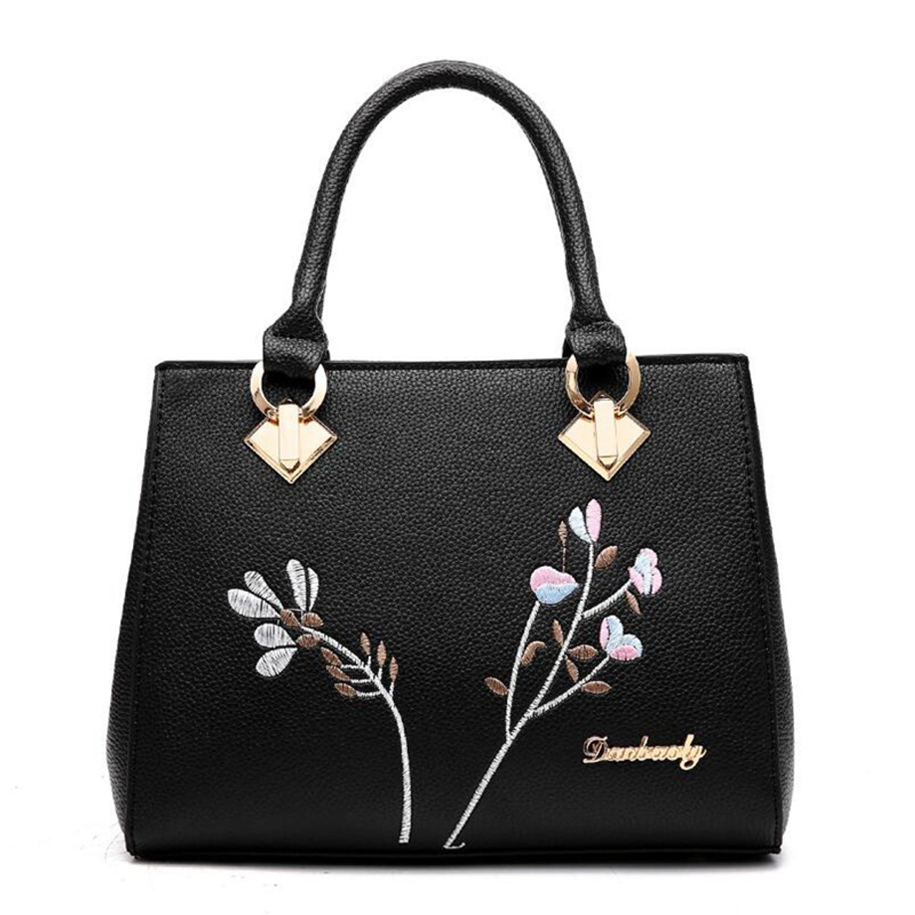1fe248b9c6d ... 2018 Messenger Bags Women handbag flower women shoulder bags women pu  leather tote bag ladies bags ...