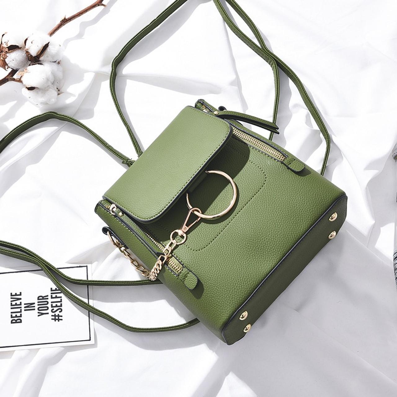 2018 New Fashion PU Leather Women Backapck Mini Women Shoulder Bags  Teenager School Backpack Bag Ladies ... cc9c3584542fb