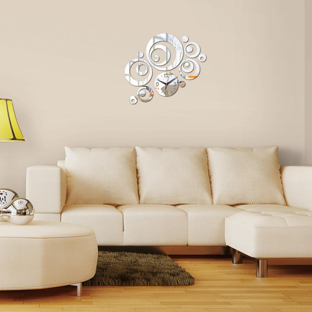 ... 2016 New Wall Clock Horloge Modern Design Reloj De Pared Large  Decorative Digital Watch Living Room ...