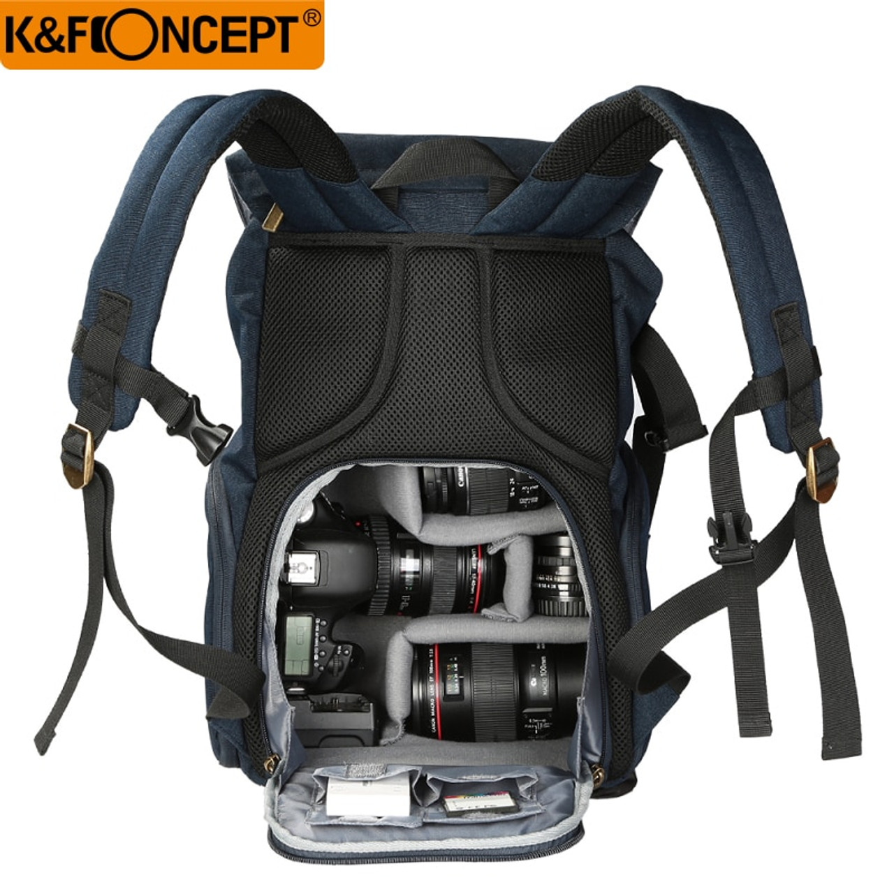 7ebf855947 ... Fast Transport K amp F CONCEPT Large Capacity Multi-functional Waterproof  Camera Backpack Travel Bag ...