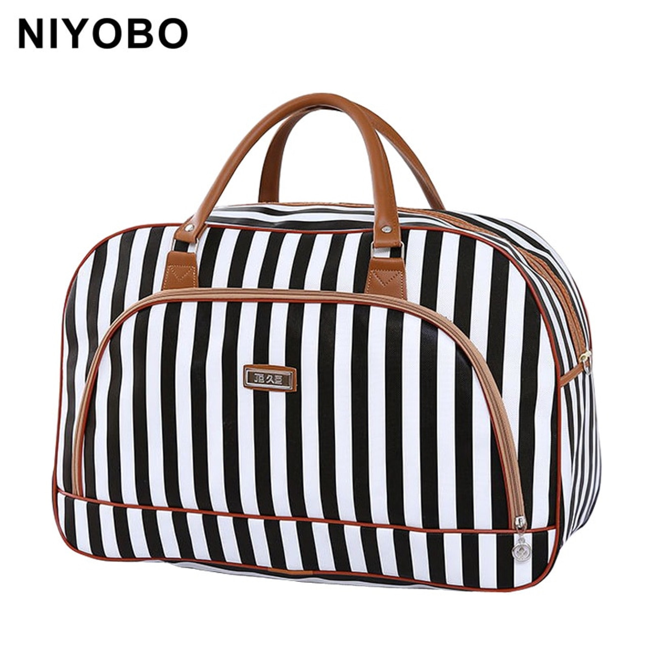991753d70067 Women Travel Bags 2018 Fashion Pu Leather Large Capacity Waterproof Print  Luggage Duffle Bag Casual Travel ...