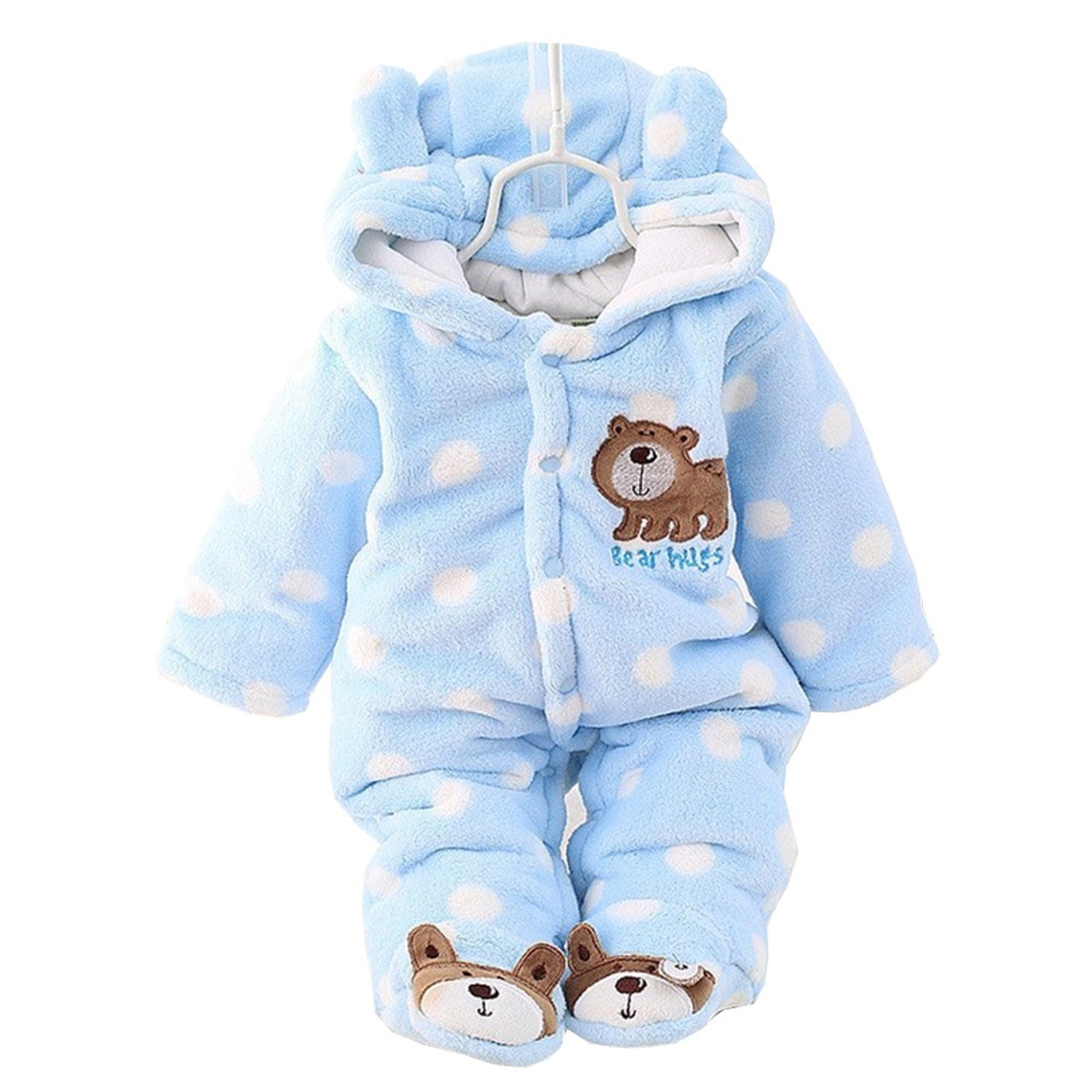 5b1ad5fbaf74 BibiCola winter Infant clothes children clothing set cartoon soft ...