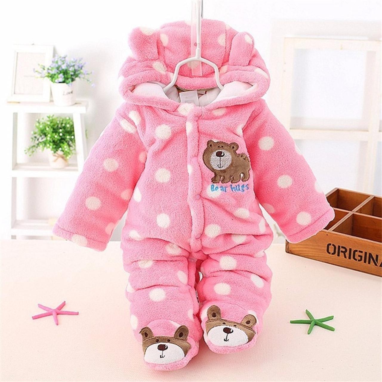 72ca54897 ... BibiCola winter Infant clothes children clothing set cartoon soft  cotton warm thick baby boys girls clothes ...