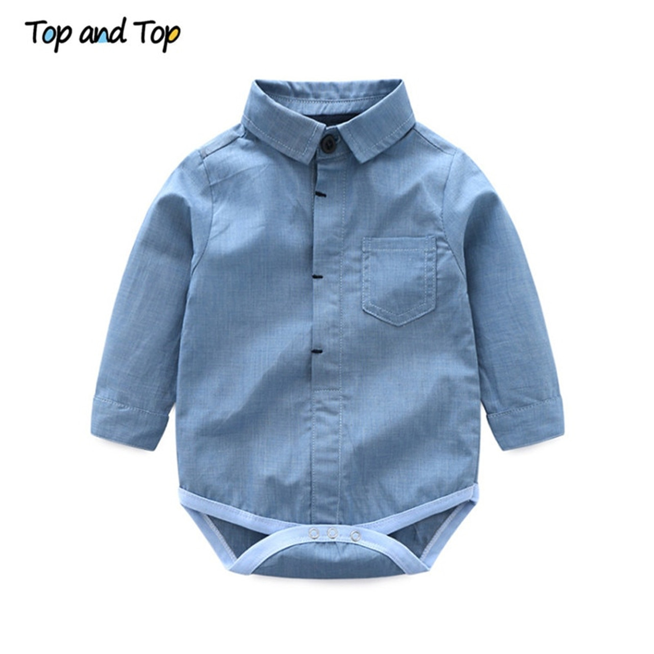 Boys Outfits 2PCS  Suit Wedding Boy Baby Formal Party Clothes Shirt Romper Top
